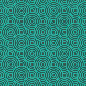 Geometry circles (green)