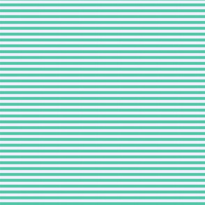 Biscay Green Horizontal Stripes