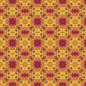 Yarn 62 D magenta-yellow