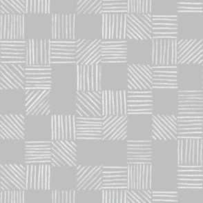 Gray Grey Grid Lines by Angel Gerardo