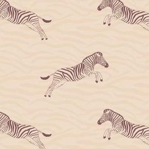 Zebra life - striped