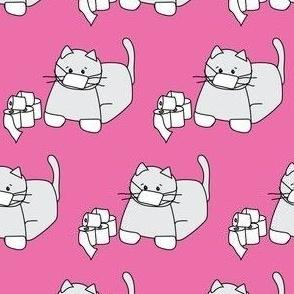 Corona Cat Alt Pink