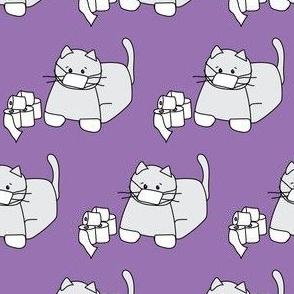 Corona Cat Alt Purple