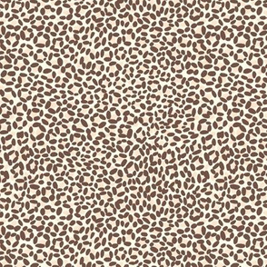 Leopard print - very small scale