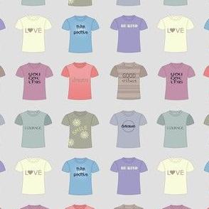 T-shirt positivity
