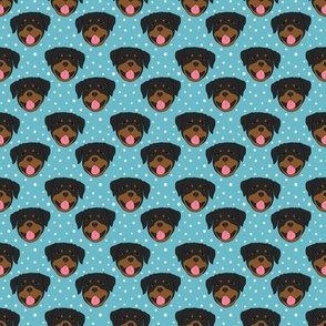 Rottweilers - blue
