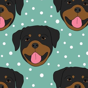 Rottweilers- green