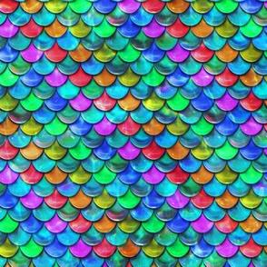 Rainbow Mermaid Scales