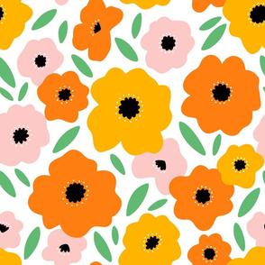 It feels like summer, beautiful bright flowers
