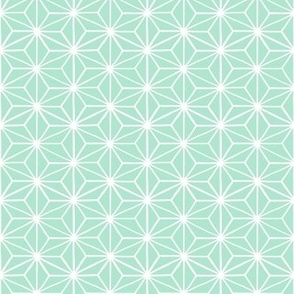 Star Tile, Mint Green // small