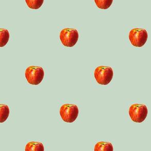 Vintage apples - green