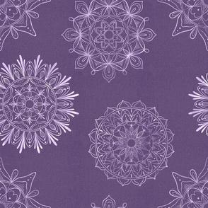 Zen Mandalas lavender