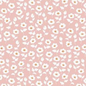 Lil poppy ditsy Pink
