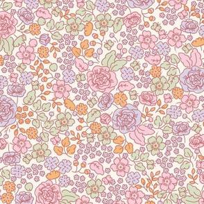 Serene Blossom - Peach