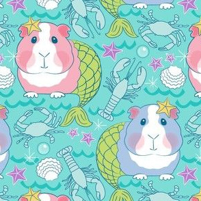 mermaid guinea pigs