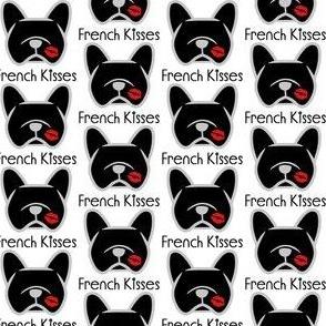 Black French Bulldogs - Frenchie kisses