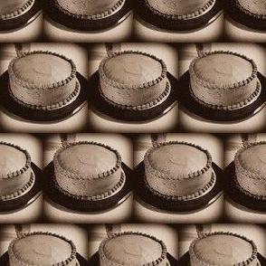 Chocolate Mocha Cake Sepia