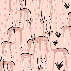 Menagerie- deer large