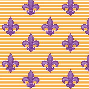 Purple FDL - Golden Stripe