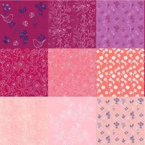 Spring Pink Patchwork