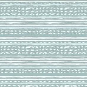 Minimal mudcloth bohemian mayan abstract indian summer aztec design dusty blue SMALL