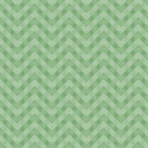 Vintage Green Chevron Pattern (Small Scale)