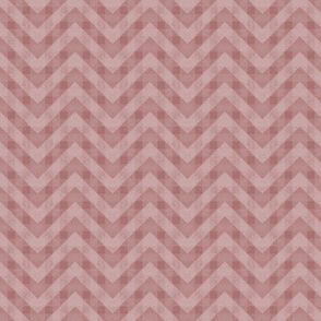 Vintage Light Red Chevron Pattern (Small Scale)