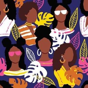 African american black women