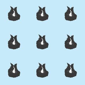 Rabbit Pattern - Blue
