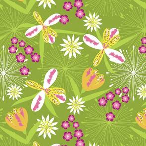 Alstromeria Green