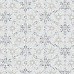 Vanilla Cream Snowflakes XS