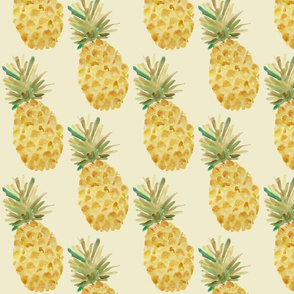 Pineapple - Pale Yellow