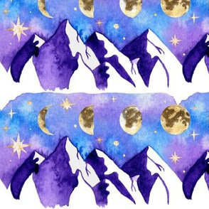 Mountains and the Phases of the Moon