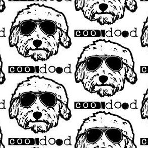 COOL DOOD DOODLE DOG Larger scale