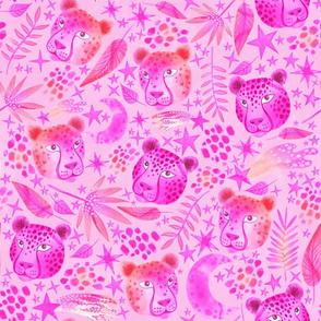Cosmic Pink Cheetahs