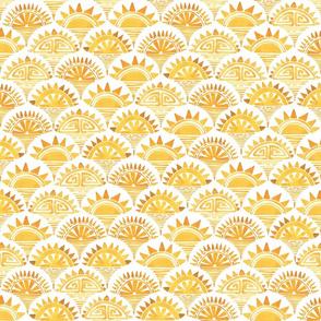Savanna Sunrise White Gold