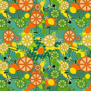 Citrus Pop Bikes- Teal- Regular Scale