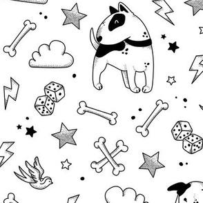 Bullterriers Tattoo - Bully - w/o text
