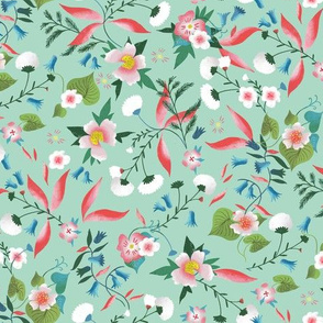 ditsy little daisy garden mint