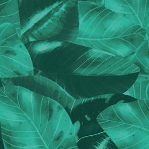 Philodendron - Urban Jungle Pattern