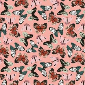 Bramble Butterfly in pink