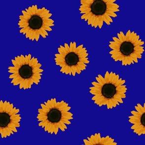 Sunflowers (ultramarin)