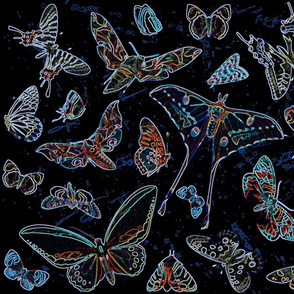 Bioluminescence Pollinators