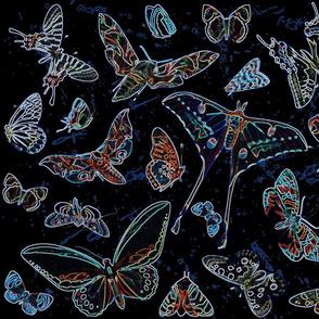 Bioluminescence Pollinators