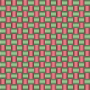 Woven (red and green)