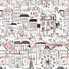 The Streets of Paris Pink