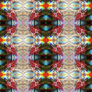 Psychedelic Holly Berries Rainbow