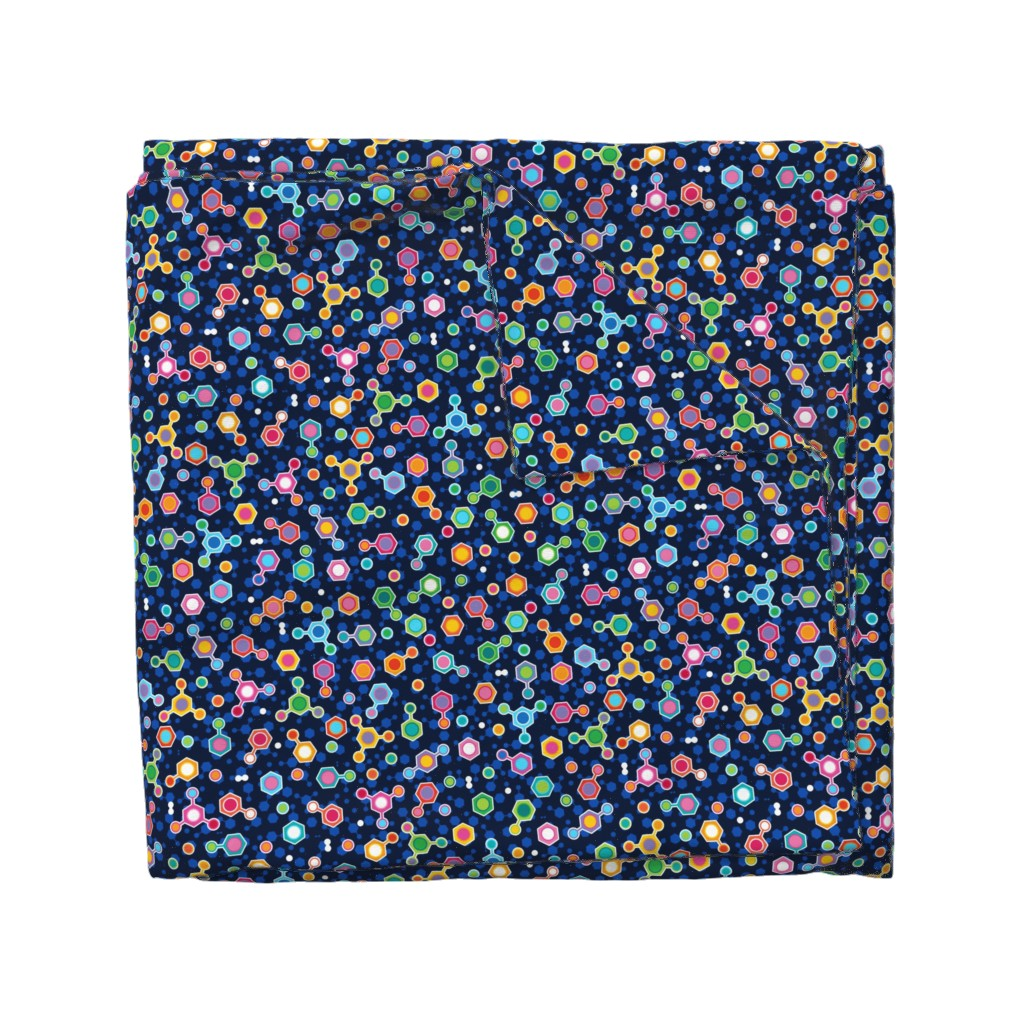 Wyandotte Duvet Cover featuring Hydrocarbon in Space by spellstone
