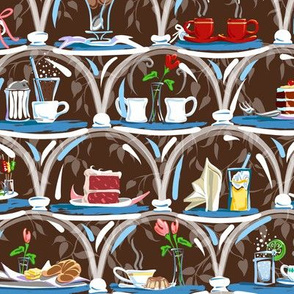 Cafe Treats | Chocolate Brown