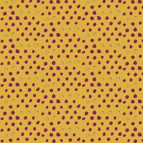PennyDog Illustration - Dots Co-ordinate (hedgehogs)